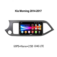 DVD Android Kia Morning 2014-2017 ZESTECH 4G